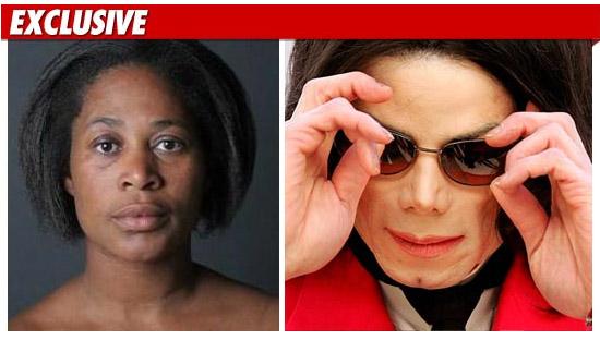 Ms Mociene Petti Jackson & Michael Jackson