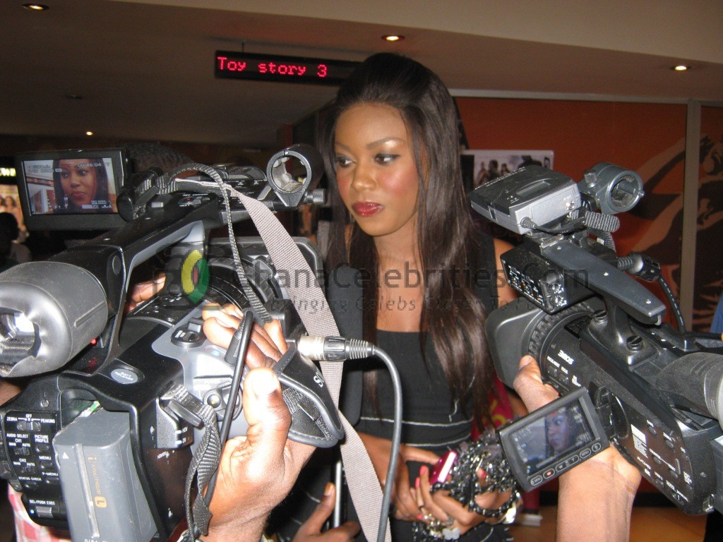 Yvonne Nelson At The Game Premiere