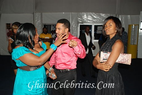 Majid Michel & Wife