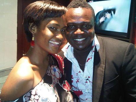 Majid's Wife & Eddie Nartey