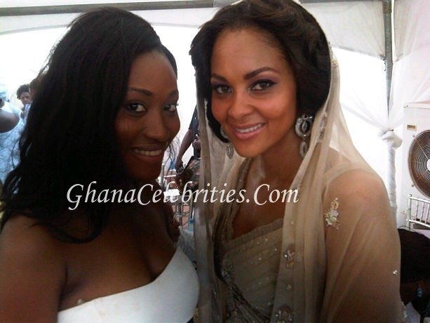 Sulley Muntari  Menaye Donkor Wedding