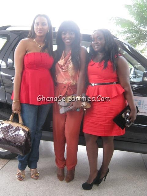 Juliet Ibrahim, Yvonne Okoro & Roselyn Ngissah