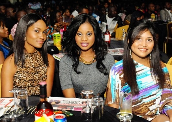 Majid Michel's Wife At AY Show In Nigeria