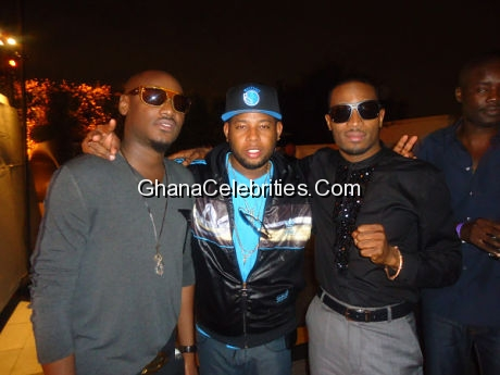 D Black, Dbanj and 2face