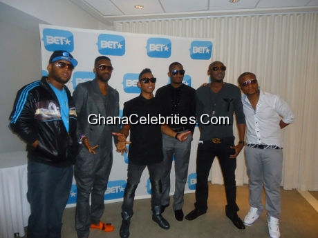 D Black, Fally, 2face and others
