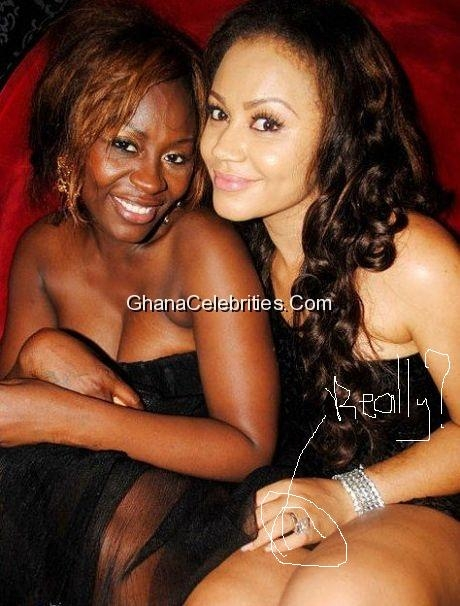 Confidence Haugen And Nadia Buari