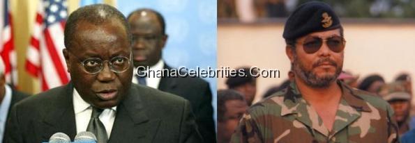 Akuffo Addo And J.J Rawlings
