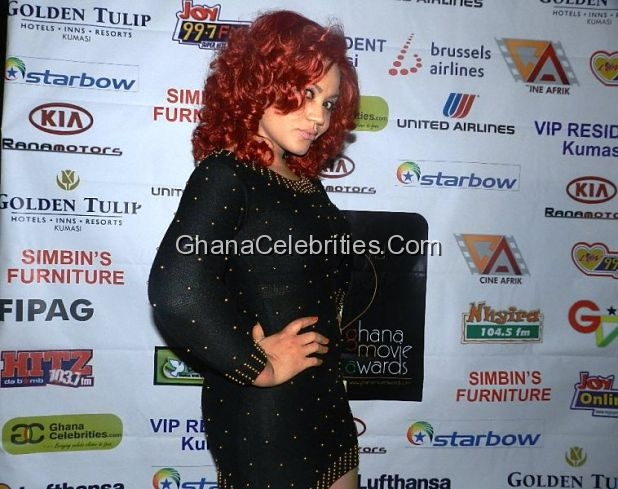 Nadia Buari At Ghana Movie Awards 2011 Nominees Party