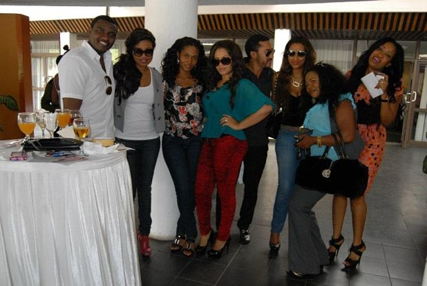 Nadia Buari and little sister & others