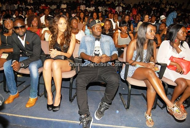 Menaye Donkor And Sulley Muntari