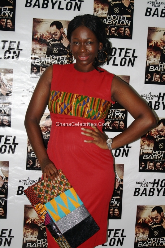 Ama K Abebrese At Hotel Babylon' Premiere In March, 2012