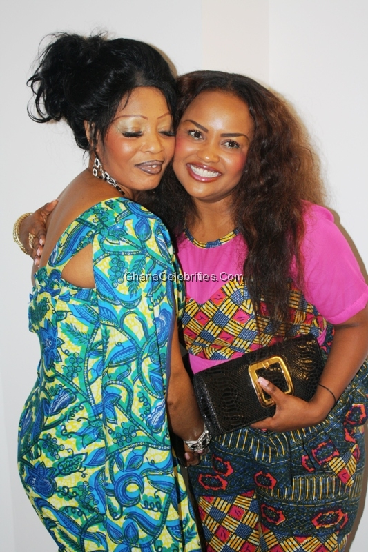Nana Ama McBrown and Mum