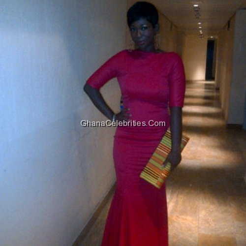 Ama K Abebrese At 2012 AMAA