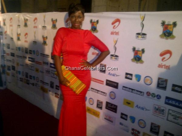 Ama K Abebrese At African Movie Academy Awards 2012