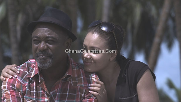 Nadia Buari and Bimbo Manuel in Heroes & Zeros