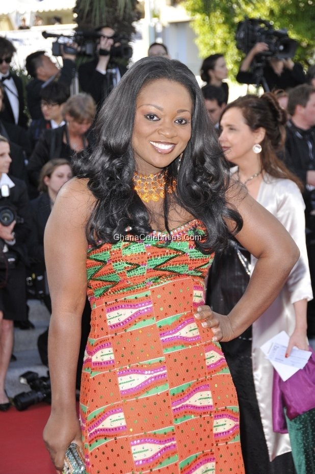 Jackie Appiah At 2012 Cannes Film Festival Red Carpet