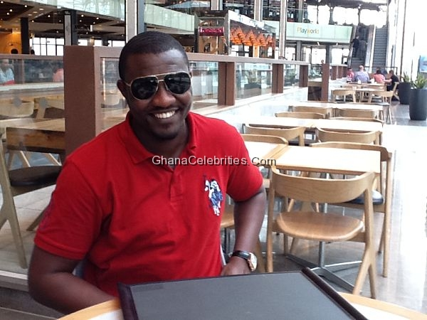 John Dumelo In London