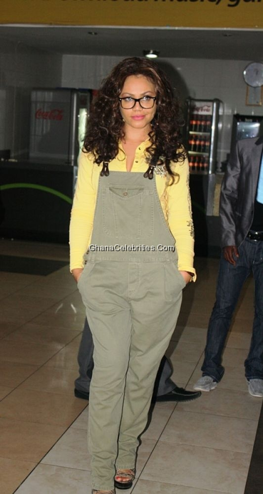 Nadia Buari At Press Preview Of 'The Rain'