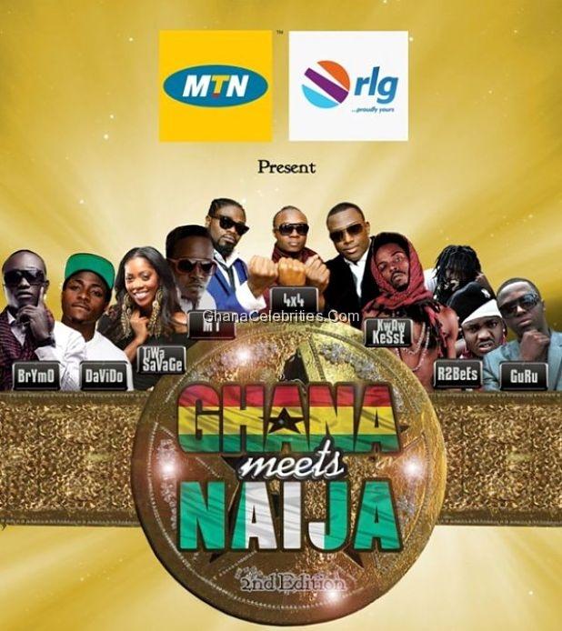 Ghana Meets Naija 2012