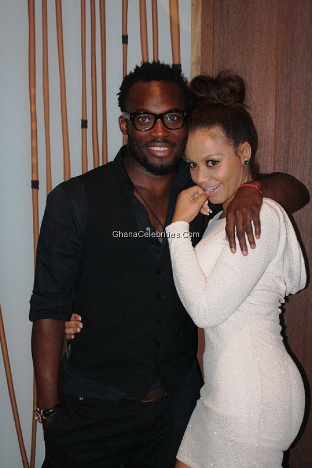 Nadia Buari At Nana Aba Anamoah's private party inside Villaggio Primavera