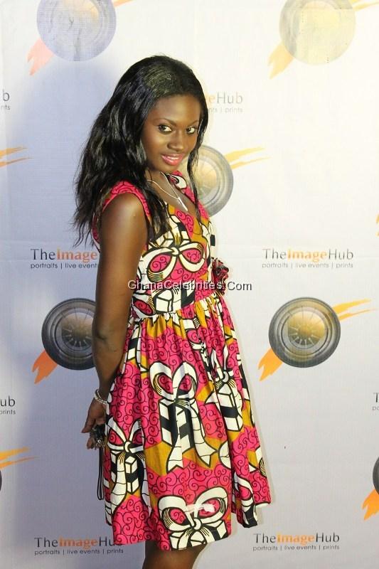 Martha Ankomah At The Opening Of Image HUB