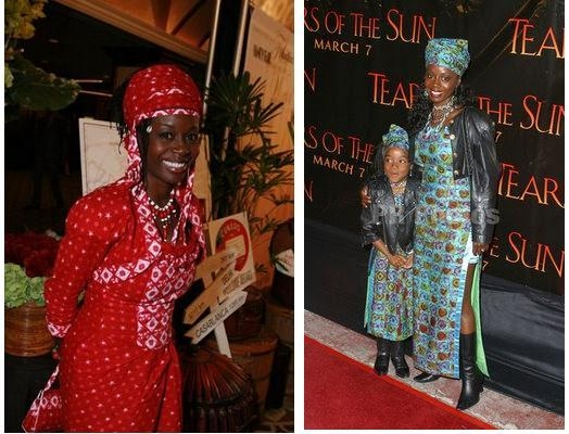 Akosua Busia And Daughter Hadar (Right Photo)