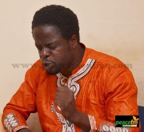 Ofori Amponsah Praying At PeaceFm