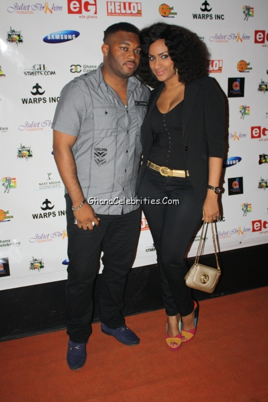 Actress Juliet Ibrahim And Husband