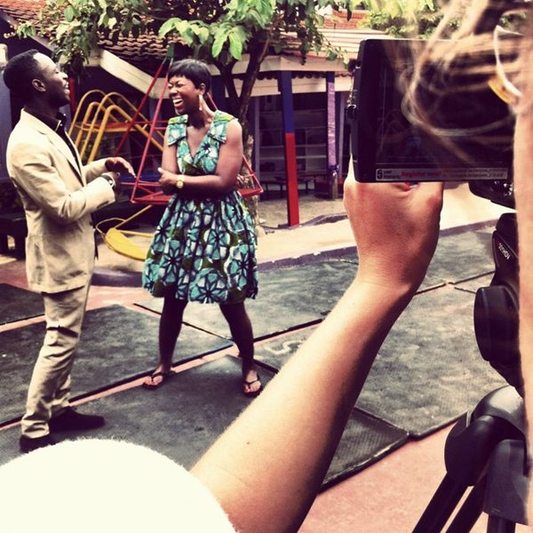Ama K Abebrese On 'A Day In the Life' Set With Okyeame Kwame