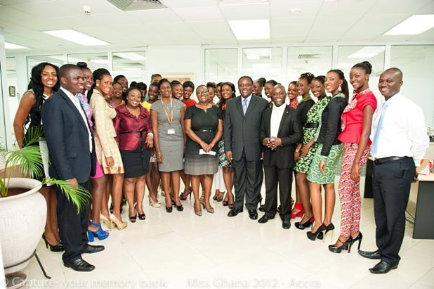 Fidelity hosts Miss Ghana 2012 finalists