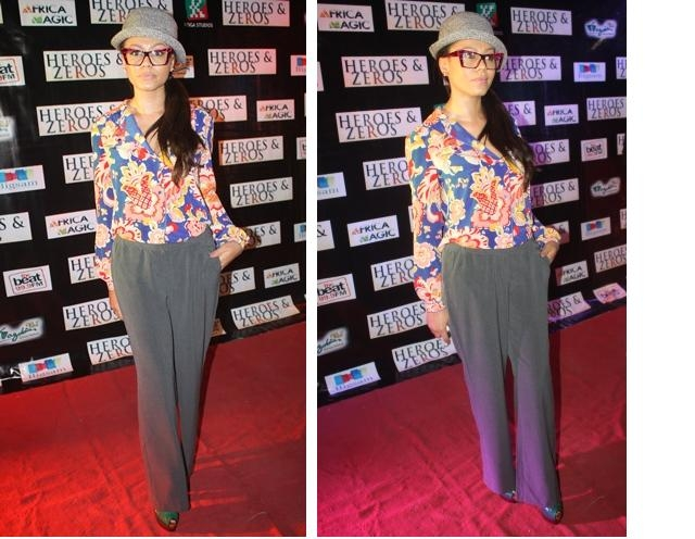 Nadia Buari At Heroes and Zeros Premiere In Lagos