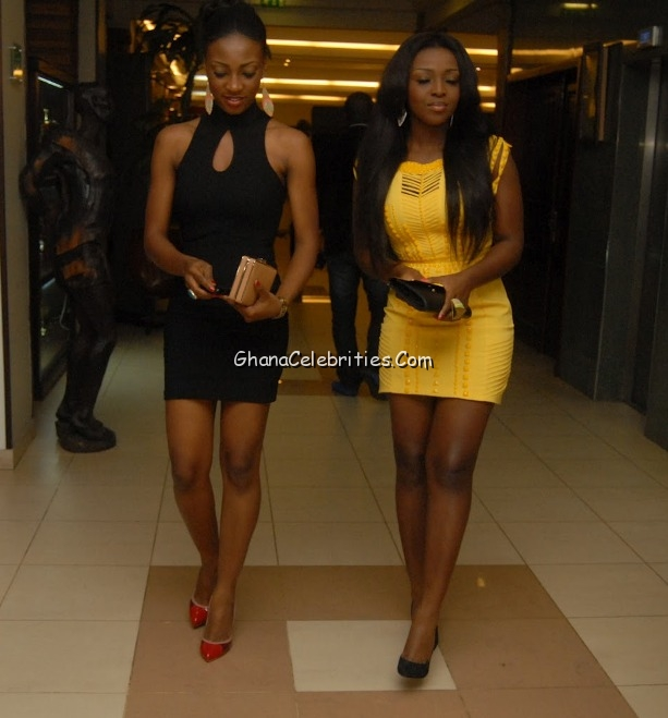 Roseline Okoro left, Yvonne Okoro right