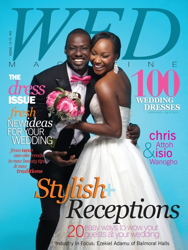 Chris Attoh Covers Wed Mag