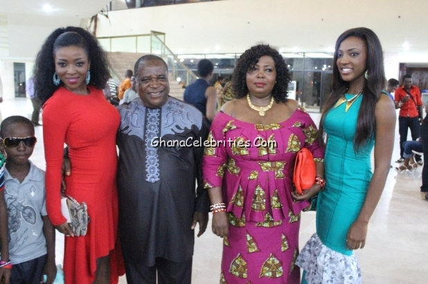 nollywood celebrities with their parents celebrities