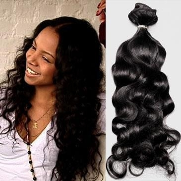 Wagmans Naturally Curly Virgin Remy Indian Human Hair 40