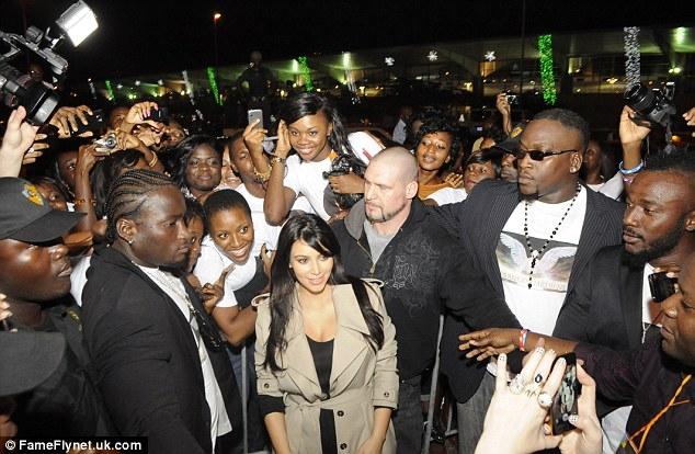 Kim Kardasian In Ivory Coast1