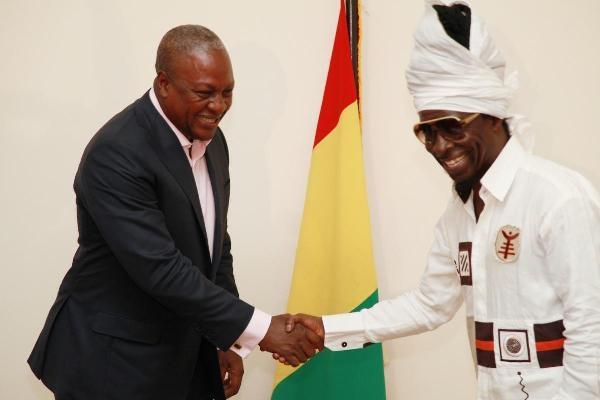 President Mahama And Kojo Antwi