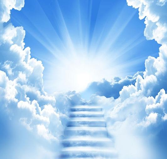 La mort : Pour en chasser la peur, il faut en parler... - Page 5 Cloud-Heaven