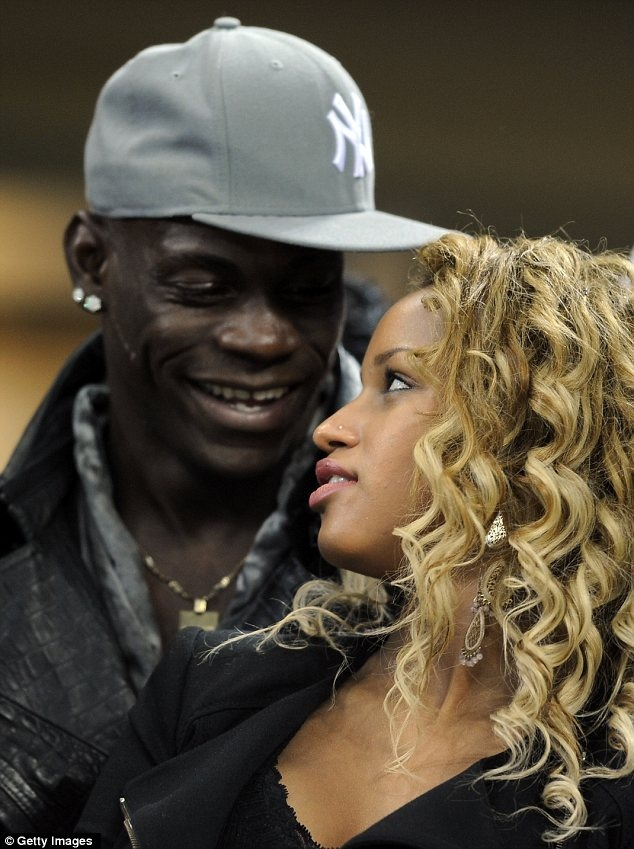 Fanny Robert Neguesh Balotelli girlfriend