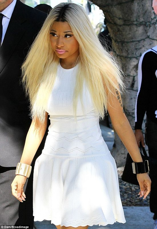 Nicki Minaj At Beverly Hills1