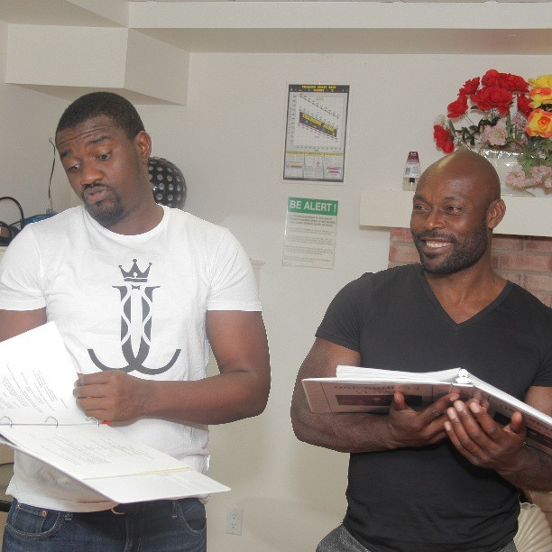 John Dumelo1 And Jean Louis