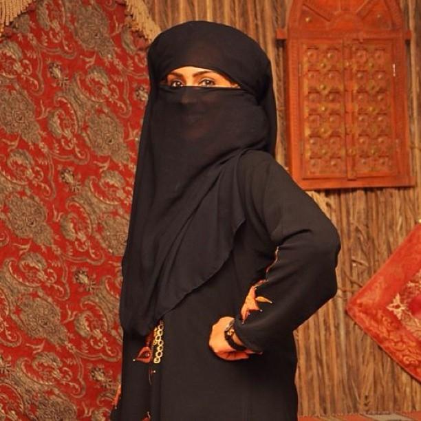 Juliet Ibrahim1 Arabian Nights: Juliet Ibrahim rocks a burqa in Dubai