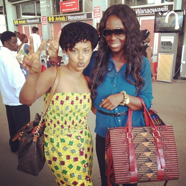 Ama K Abebrese and Nana Ama McBrown