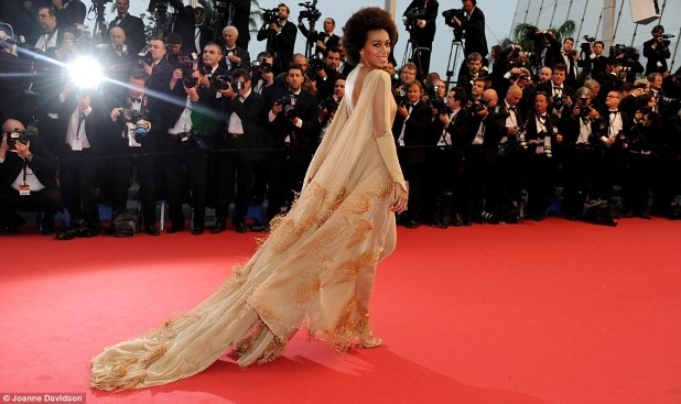 Solange At Cannes