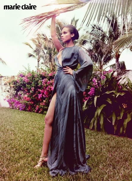 Alicia Keys Marie Claire UK1