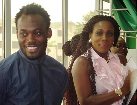 Michael Essien and Akosua Puni-Essien