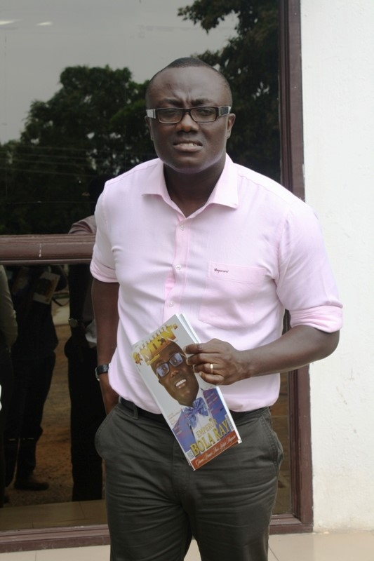 Bola Ray Covers Exclusive Men's Magazine