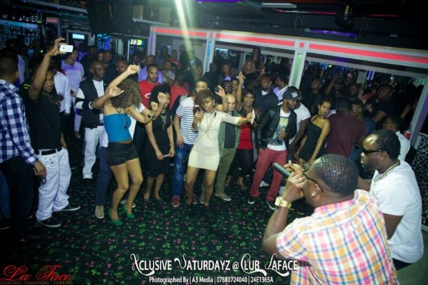 Praye Performs in London Club To A Tiny Crowd