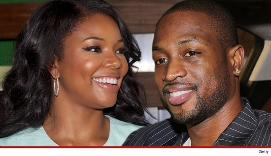 Gabrielle Union and Wade
