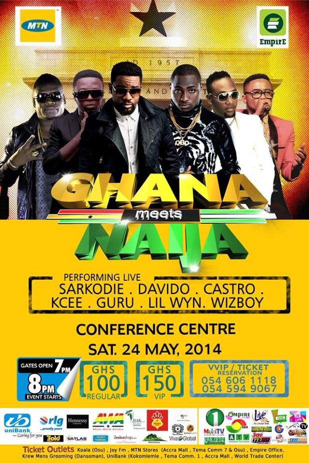 davido ghana meet naija 2014 full